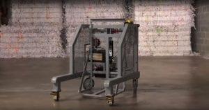 Photo of an EZTipper Cart